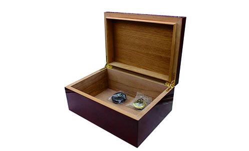 Spanish Cedar Wood Cigar Box