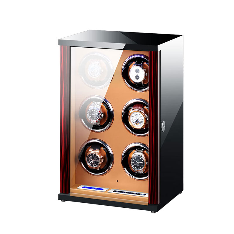 Vertical Design Watch winder/ 6 Slots Watch Winder