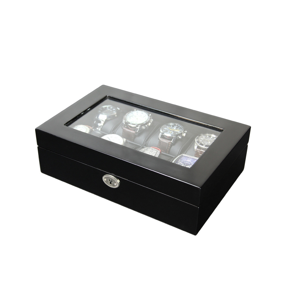 High Quality Customized Luxury Painting Wooden Display Watch Box For Packaging Box