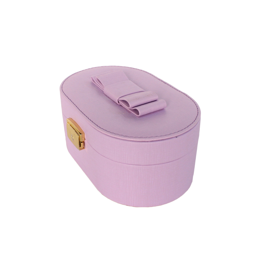 Trade Assurance OEM PU Leather Jewelry Box Dongguan With Lock